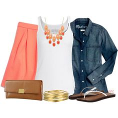 """Chambray"" by coombsie24 on Polyvore"