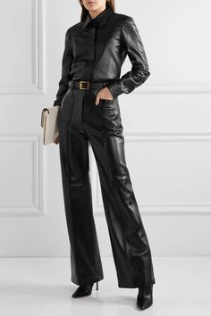 Gucci Outfits, Fashion Outfits, Womens Fashion, Luxury Fashion, Fashion Clothes, Classy Outfits, Stylish Outfits, Givenchy Belt, Pants For Women