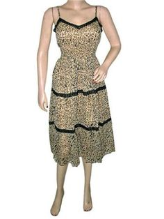 Bohemian Dress Spaghetti V-neckline Lace Tiger Print Black Chiffon Sundress Mogul Interior,http://www.amazon.com/dp/B00CMMXFPQ/ref=cm_sw_r_pi_dp_2xOHrb0528A04D87