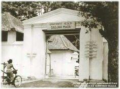 Universitas Gajah Mada, sebelum di kawasan Bulaksumur menempati  wilayah Kraton ( date unknown)