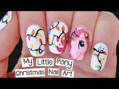 Nailed It NZ: Pinkie Pie Nail Art | My Little Pony Christmas!