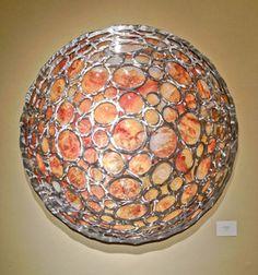 """Lunar Moon 48"""" - Rowland Augur"""