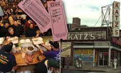 NYC - Katz Deli