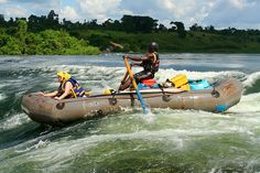 White-Water Rafting on the Nile (Uganda). 'For those who've experienced it, it's… Uganda Kampala, Nile River, Epic Photos, Whitewater Rafting, Kayak Camping, East Africa, Africa Travel, Beach Trip, Rivers