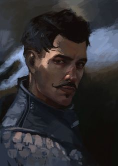 Quick break from vld bc I have a relapse of my DAI phase and I painted Dorian for my friend :DD