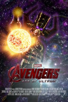 Trabajo practico para mis alumnos. El logo nada tiene que ver con la ilustración y es copyright de Marvel. Galaxtus by makm on deviantART