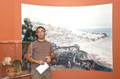 O guia da visita, Sr. Mário Nascimento. (Fotografia de Jorge Carvalho, 2014)