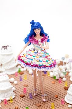 Tis the season for Barbie dolls, or so it seems. Katy Perry has joined the bandwagon of celebrities who have recently had Barbie dolls produces in Barbie Style, Barbie I, Barbie World, Barbie Dress, Barbie Clothes, Barbies Dolls, Dolls Dolls, Katy Perry, Celebrity Barbie Dolls