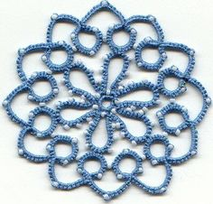 481.- Frivolité ó tatting | Labores en Red