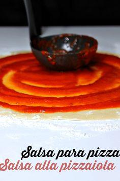 LAS SALSAS DE LA VIDA: Salsa para pizza (pizzaiola)