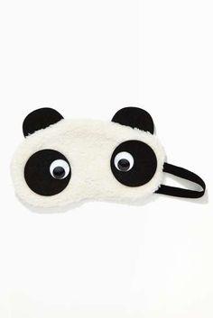 Panda Bear Sleep Mask, for mom @robbinarcherscott