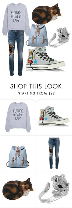 """Looks about right"" by michele-cathers ❤ liked on Polyvore featuring Converse, Dolce&Gabbana and Effy Jewelry"