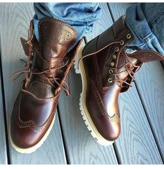 These are fire ! #Timberland
