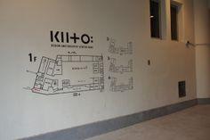 館内入口の案内図