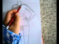 How to draw a fashion sketch, pin it now watch it later!
