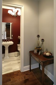 Half Bath by Devonshire Custom Homes on Houzz