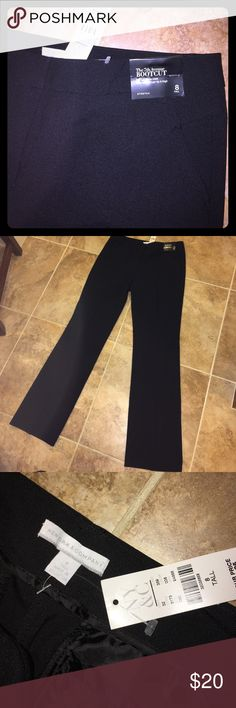 New York & Company bootcut slacks size 8 tall NWT absolute perfect condition. Perfect for work. Size 8 tall New York & Company Pants Boot Cut & Flare