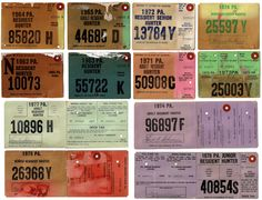 Old michigan hunting fishing licenses on pinterest for State of alaska fishing license