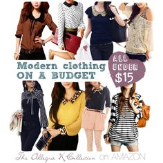 Budget Shopping TIP: This collection on Amazon offers tons of cute items especially modern loose and flowy tops at AMAZING prices (all under $15 and most around $12). Great place for trendy pieces in fun colors. Click to shop!