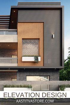House Outer Design, House Outside Design, House Front Design, Modern Bungalow Exterior, Modern House Facades, Bungalow House Design, Indian House Exterior Design, Modern Exterior House Designs, Architect Design House