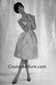 1960's Dior | Couture Allure Vintage Fashion: 1960 Couture Evening Gowns and Party ...