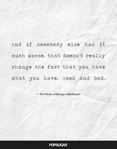 From The Perks of Being A Wallflower! One of the saddest and funniest movies that I have ever seen!