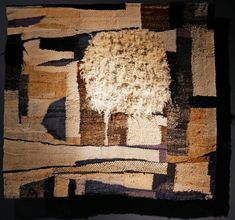 Weaving Art, Tapestry Weaving, Hand Weaving, Lausanne, Sisal, Gouache, Magdalena Abakanowicz, Materials And Structures, Unusual Words