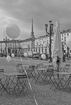 Piazza Vittorio Veneto in Turin (Italy)