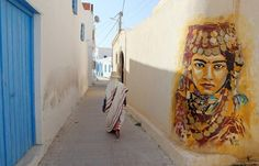 Tunisian street art - in pictures | Art and design | theguardian.com
