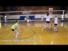 Volleyball Conditioning Drill: Pass Out - YouTube