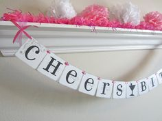 Great banner for bachelorette parties, girls nights out, cocktail parties, etc. You may notice flaws in the banner, Bachelorette Decorations, Bachlorette Party, Bachelorette Parties, Grad Parties, Bridesmaid Duties, Always A Bridesmaid, Party Hacks, Party Ideas, Best Friend Wedding
