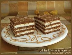 Edith's Kitchen: Cake with coconut cream Edith's Kitchen, Coconut Cream, Cakes And More, Yummy Cakes, Tiramisu, Sweets, Ethnic Recipes, Desserts, Food