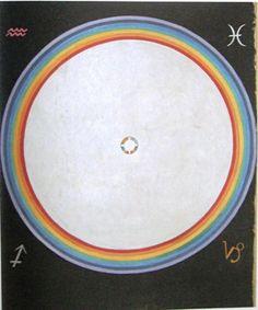 Hilma af Klint - Grupp IX/SUW, nr. 38, Duvan nr. 14, 1915. HAK 186. Kat 116. 154 x 128,5 cm