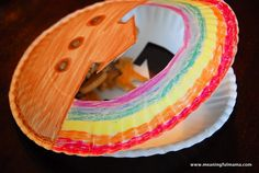 Noah's Ark craft with paper plates, Awana Cubbies, Bear Hug 13
