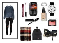 """STUDENT"" by queenstone on Polyvore featuring mode, Hudson, Gap, Converse, Eastpak, Rosendahl, BillyTheTree, Federation, Bobbi Brown Cosmetics et NARS Cosmetics"