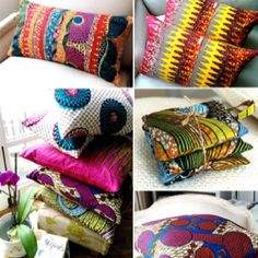Loving these gorgeous decorative home accessories from Sister Batik.