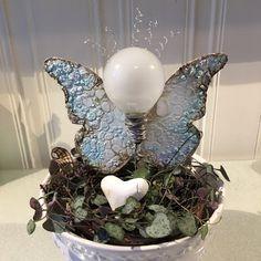 Minas creative: Light-bulb angel - entry for scrapki-wyzwaniowo November challenge