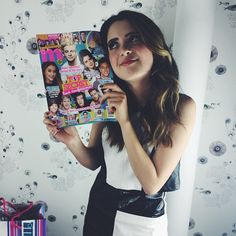 Laura Marano stopped by M to chat about #BadHairDay and to film a cute #ValentinesDay video! Stay tuned ;)