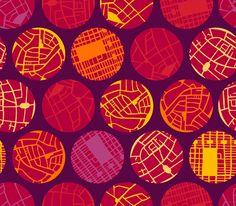 Design Challenge Three. Circumnavigate Fabric. Designed by @Krishna Chavda for The Printed Bolt. #fabric, #quilting_fabric, #the_printed_bolt, #design #spoonflower
