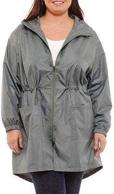 931c06abf861 Xersion Long Sleeve Hooded Parka - Plus Hooded Parka