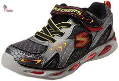 Skechers Ipox Rayz, Baskets mode garçon - Gris (Gurd), 27 EU (9.5 UK) (10.5 US) - Chaussures skechers (*Partner-Link)