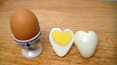 Tell him you love him, treat the kids, make eye-catching accents for your party buffet table with these clever, easy to make heart-shaped hard boiled eggs. Omelettes, Valentines Day Food, Party Buffet, Healthy Eating For Kids, Egg Shape, Hard Boiled, Boiled Eggs, Cute Food, Snacks