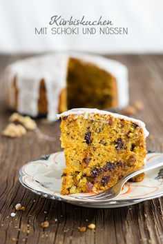 Time for pumpkin in the cake - Rezepte - Pecan Recipes, Sweet Recipes, Dessert Recipes, Healthy Desserts, Healthy Recipes, Sweet Cakes, Sweet Tooth, Food Photography, Sweet Treats