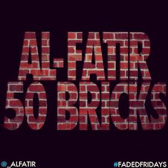 New song droppin' tmw [7/27/12] titled #50Bricks ! I'll be releasin' new material EVERY Friday til release of #FadedDreams !! #FadedFridays