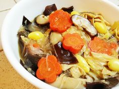 Mixed Vegetable Stew (Chup Chye)