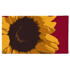 "Coir, Sunflower Burst by Ashley Gifts. $26.39. Coconut fiber coir material. Size is: 28""X16""X0.6"". Fade and weather resistant. Recycled rubber backing. anti-skid surface;Easy to clean. The first step in your home should be an fun one. Grace your doorway with our weather and wear resistant doormats."