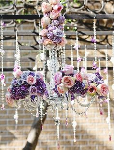 Decoration de mariage violette Http://yesidomariage.com Blog Mariage
