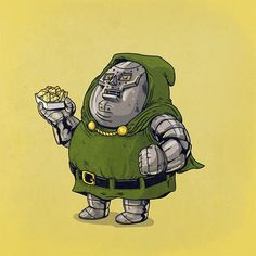 """""""Chunky Dr. Doom"""" - Spiderman 