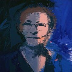 Portrait of the Artist's Mother ~ Andy Warhol, 1974 Andy Warhol Portraits, Andy Warhol Museum, Famous Artists, American Artists, Modern Art, Pop Art, Painting, Fictional Characters, Pittsburgh