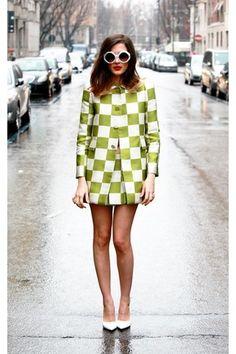 Stylish Street Style Mod Outfits to Copy Fashion 60s, High Fashion, Vintage Fashion, Fashion Trends, Sporty Fashion, Fashion Black, Woman Fashion, Gothic Fashion, Street Fashion